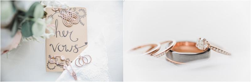 Wisconsin Wedding Photography - Spring Weddings - Wedding Vows - Bridal Detail Photography - Wedding Rings