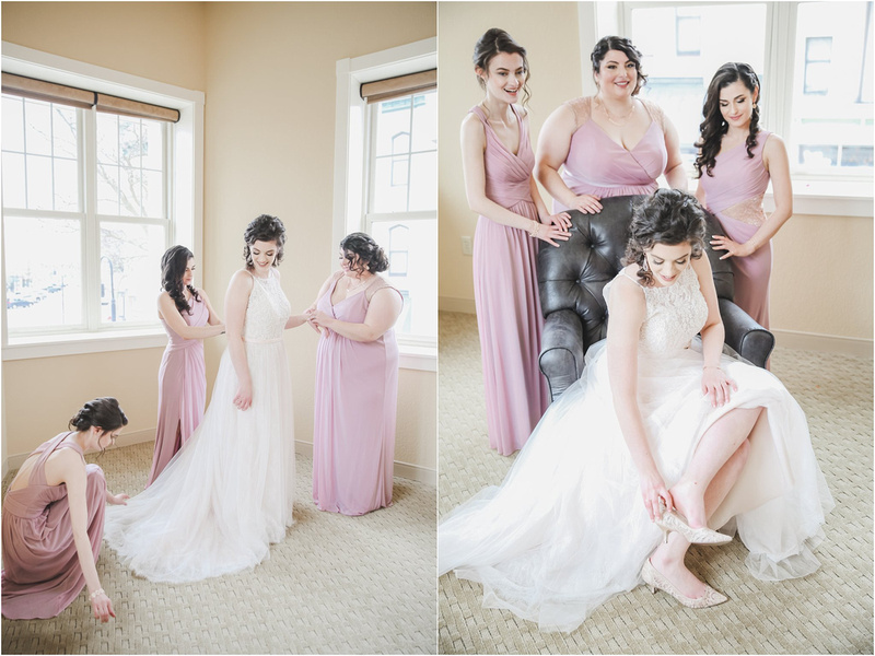 Spring Weddings At The Rotunda - Bridal Portraits At The Clarke Hotel in Waukesha, WI- Memory Lane Photography by Jessica Lane