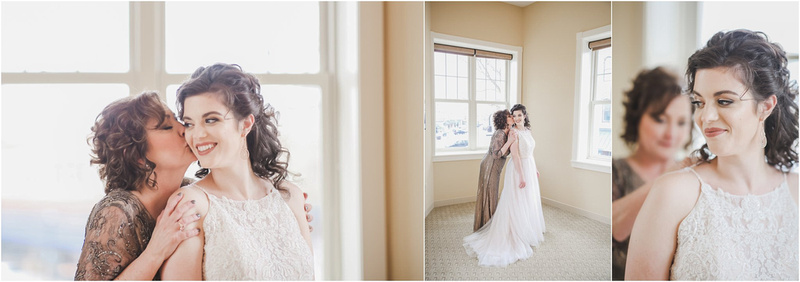 Mother of The Bride - Bridal Portraits - Getting Ready Photos At The Clarke Hotel in Waukesha, Wisconsin