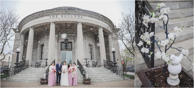 Bridal Party at The Rotunda - Wisconsin Weddings - Waukesha Weddings