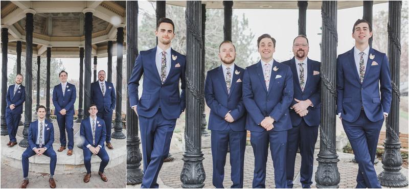 Groomsmen, Groom Portraits, The Rotunda Wedding