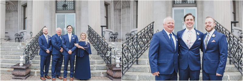 Family Formals, Family Portraits, Wedding Day Portraits, Spring Wedding, Rotunda Wedding, Memory Lane Photography