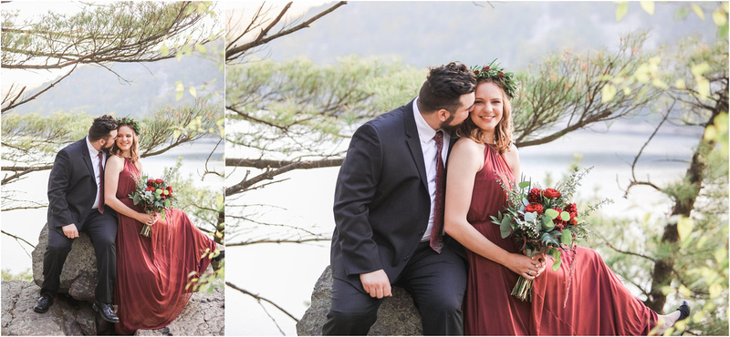 Devil's Lake Styled Couple's Adventure Session turns into Surprise Proposal