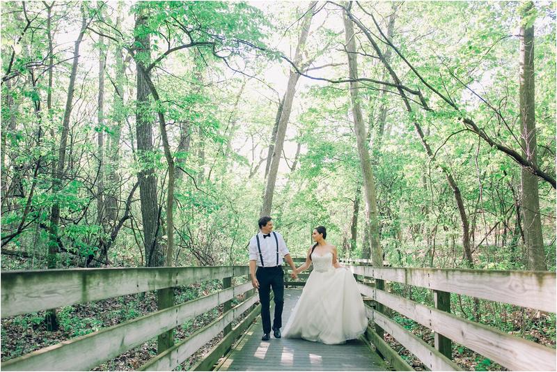 Boho Beach Woodland Theme Wedding in Delafield, Wisconsin