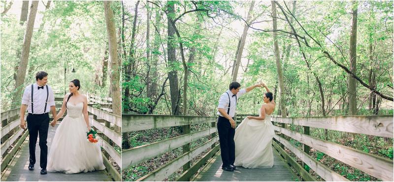 Boho Beach Woodland Theme Wedding - Wisconsin Weddings