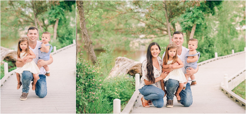 Family Photography Session at The Fish Hatchery in Delafield