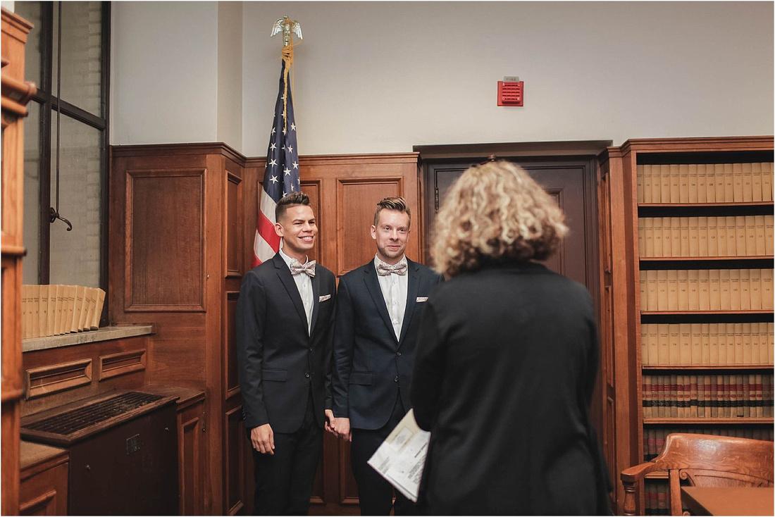 Same Sex Wedding, Same Sex Marriage, LGBT Milwaukee Wedding, Milwaukee Weddings, Courthouse Wedding Photographer