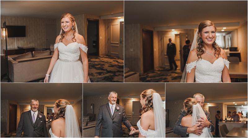 Memory Lane Photography - Bridal Portraits - First Look Portraits - Father of The Bride First Look Ideas