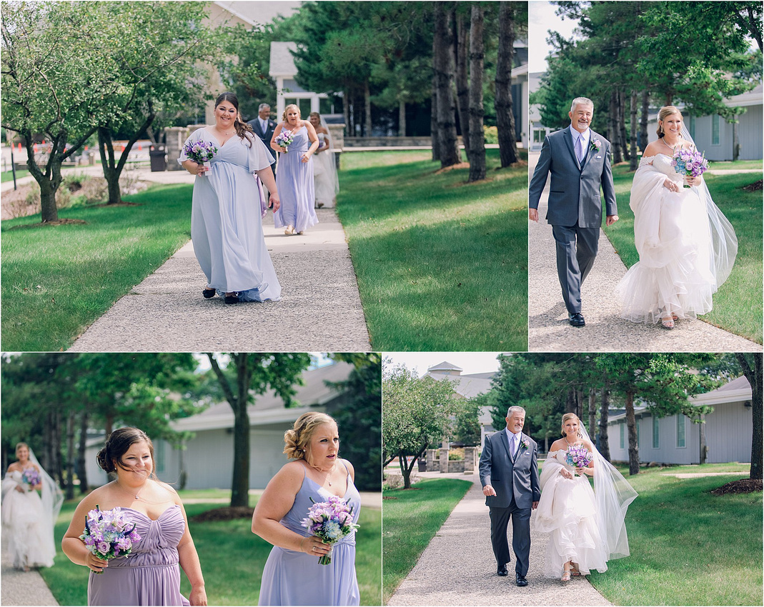 Bridesmaids, Outdoor Ceremony, Wisconsin Wedding Venues, The Ingleside Hotel Wedding Day, Memory Lane Photography by Jessica Lane