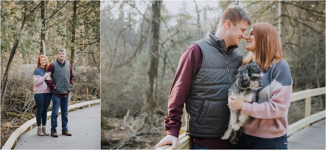 Wisconsin Winter Engagement Photography Session - Winter Bride - Winter Engagement - Wisconsin Winter Photography - Wisconsin Wedding Photographer - Delafield Wedding Photographer - Retzer Engagement