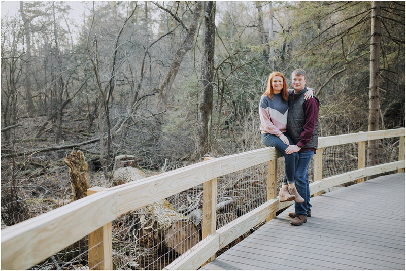Retzer Winter Engagement - Wisconsin Wedding Photographer - Waukesha Weddings - Winter Brides - Wisconsin Winter Weddings