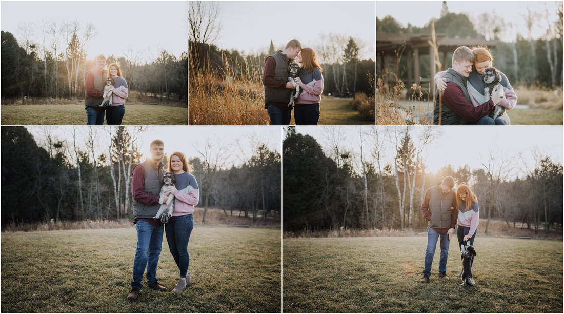 WI Bride, Winter Bride, Winter Weddings, Winter Engagement Photography Session - Golden Hour0- MEMORY Lane photography