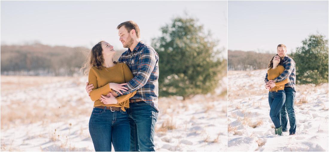 Snowy Engagement, Winter Engagement, Wisconsin Wedding & Engagement Photographer, Winter Wedding, Wisconsin Winter Wedding,